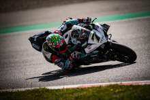Chaz Davies completes first laps in five months at Catalan test