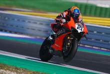 Michael Ruben-Rinaldi sets the pace on final day of Misano test