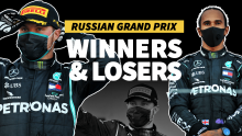 F1's winners and losers from the Russian Grand Prix