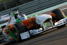 16.11.2011 Abu Dhabi, UEA,Johnny Cecotto (VEN), Force India Racing Team  - Formula 1 Testing Rookie