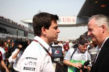 14.04.2013- Race, Toto Wolff (GER) Mercedes AMG F1 Shareholder and Executive Director