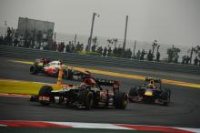 Lotus drivers fall out over on-track clash