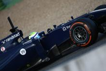 30.01.2014- Felipe Massa (BRA) Williams F1 Team FW36
