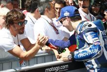 Lorenzo: Alonso's talent, concentration 'impressive'