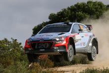 Morale boosting victory for Neuville in Sardinia