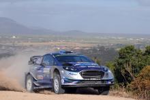 Ott Tanak (EST) - Martin Jarveoia (EST) - Ford Fiesta WRC, M-Sport World Rally Team