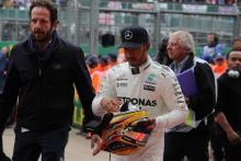 15.07.2017 - Qualifying, Lewis Hamilton (GBR) Mercedes AMG F1 W08 pole position