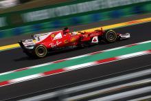 Vettel closes out Hungary practice fastest, Massa taken unwell