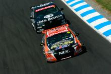 Garth Tander (Aust) Toll HSV Commodore won the 2007 V8 Supercar Championship and the Final Round