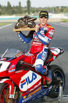 Toseland Is World Champion, Magny Cours WSBK,2004
