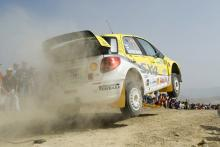 Suzuki gets first two-car finish with SX4.