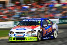 Mark Winterbottom, (Aust) Orrcon FPR Ford won all three races to win the roundBigpond 400 rd 4 V8 Su