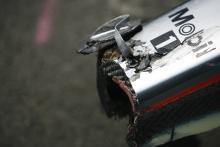 Lewis Hamilton (GBR) McLaren MP4-23 Nosecone After Crash, Canadian F1 Grand Prix, Montreal, 6th-8th,