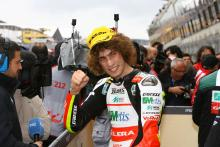 Simoncelli, French 250GP Race 2009