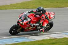 Irwin injured in FP1 off at Donington Park