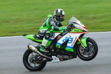 Haslam holds on for Snetterton double