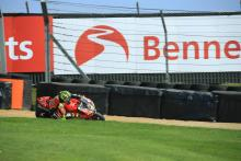 Byrne scorches to pole as Ray hits trouble