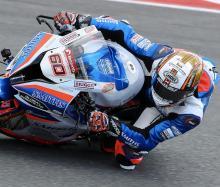 Hickman dominates Thruxton Friday FP sessions, Barbera breaks fibula