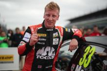 Morgan cruises to race one Rockingham win