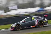 Points leader Cook 'happy' with front row result