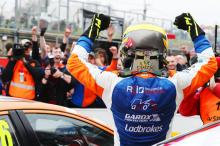 Butcher 'buzzing' after maiden BTCC win