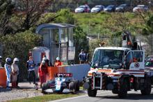 Williams terhenti karena kerusakan mesin, mengorbankan rencana pengujian