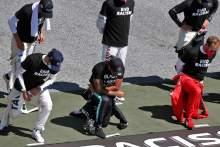 Grosjean apologises to Hamilton over F1 drivers' anti-racism efforts