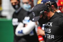Hamilton more than halfway towards an F1 race ban