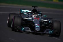 Hamilton sweeps to record-breaking Australian GP pole