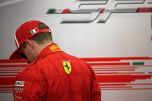 Raikkonen rues traffic for losing pole shootout to Vettel