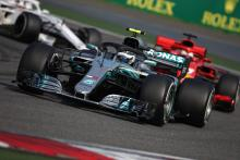 Mercedes losing five-tenths to Ferrari on straights