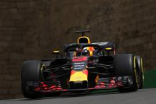 Ricciardo leads Baku FP2 as Red Bull impresses
