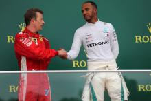 Hamilton accepts Raikkonen apology for 'racing incident'