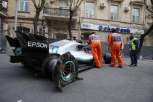 FIA had no reports of debris before Bottas incident