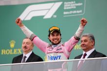 Baku podium a 'turning point' in Force India's F1 season
