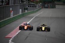 Sainz's fifth helps Renault hunt down McLaren