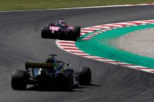 """Perez feels F1 midfield benchmark Renault is """"quite catchable"""""""