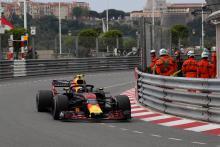 Verstappen avoids penalty for return to track in Monaco FP1