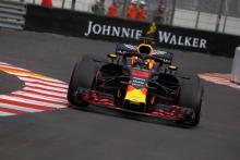Ricciardo, Red Bull lead through red-flagged Monaco FP2