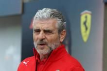Arrivabene calls for Ferrari to keep its 'feet on the ground'
