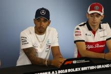 Hamilton draws Leclerc comparisons to taking on Alonso at McLaren