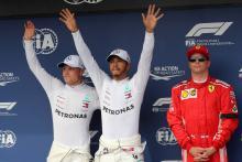 F1 Hungarian GP - Starting Grid