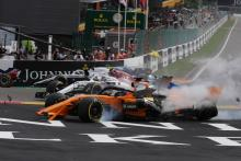 Alonso perplexed by Hulkenberg's driving in Belgian GP start crash