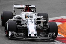 Ericsson gets grid penalty after engine change