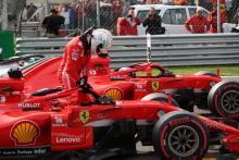 Vettel: Ferrari order strategy dictated Raikkonen tow