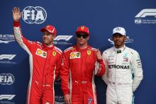 F1 Italian GP - Starting Grid
