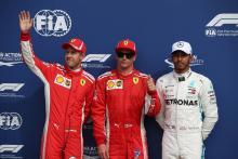 F1 Italian GP - Starting Grid
