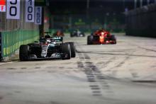 Mercedes diberi 'petunjuk awal' tentang kecepatan Singapura - Allison