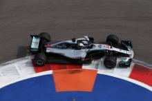 Hamilton leads Mercedes 1-2 in second Russian GP practice