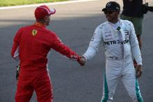 Hamilton: Mercedes applied the pressure to crack Ferrari